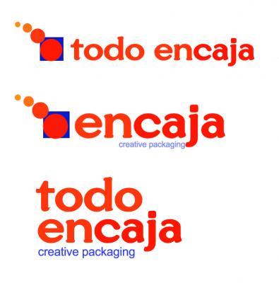 """logo """"encaja"""""""